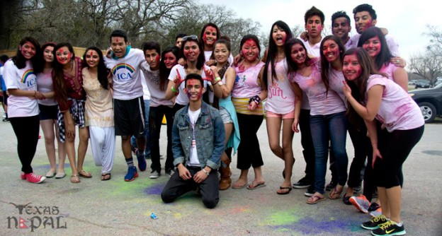 Holi 2014 Celebration in Texas by ICA