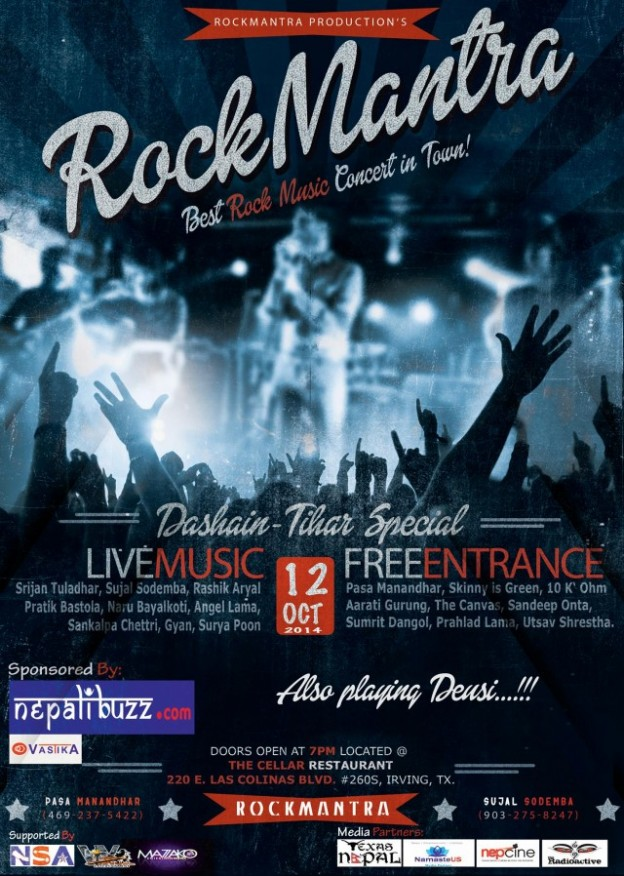 RockMantra Concert on October 12, 2014