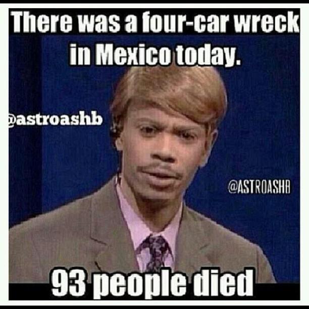 Car Crash in Mexico Jokes