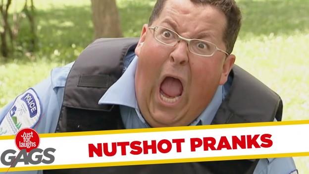 Painful Nutshots Pranks