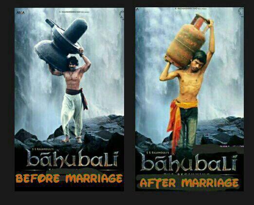 Bahubali: बिहे अघि र बिहे पछि