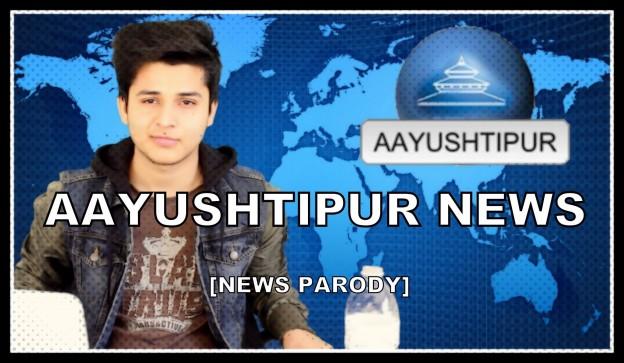 Youtuber Aayush Rimal Spoofs Kantipur TV News