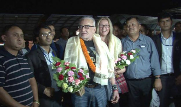Buzz Aldrin, Second Man On The Moon In Nepal
