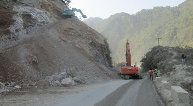 Narayangadh-Muglin Road To Be Closed Daily For 4 Hrs, Tourist Buses Allowed Access After Prior Notice